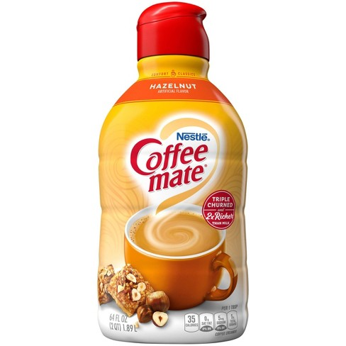 Coffee Mate Hazelnut Coffee Creamer - 0.5gal - image 1 of 4