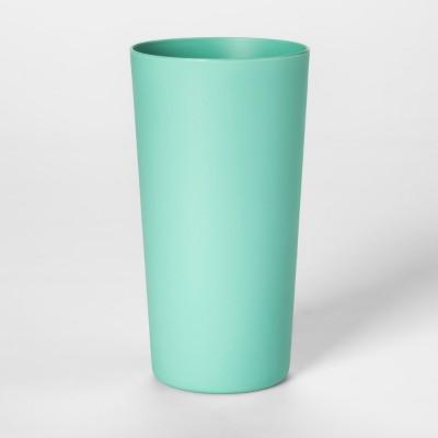 26oz Plastic Tall Tumbler Green - Room Essentials™