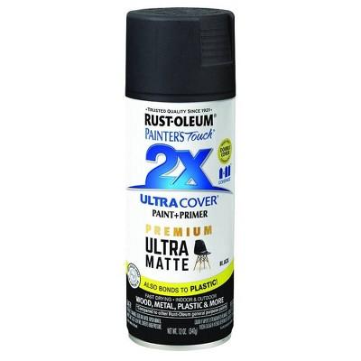 Rust-Oleum Ultra Cover 2X Matte Spray Black