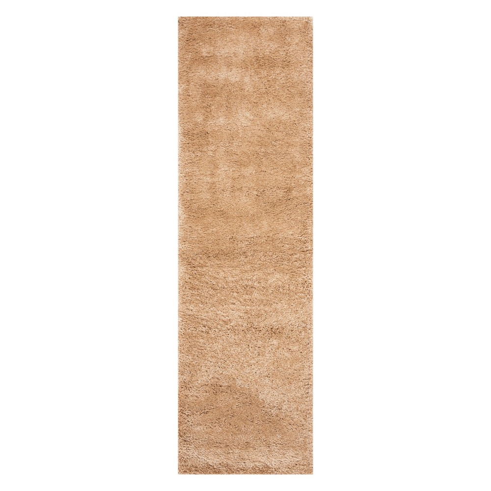 2'2X8' Solid Loomed Runner Champagne (Beige) - Safavieh