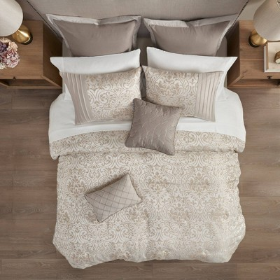 Grace Jacquard 12pc Complete Bedding Set