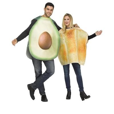 Fun World Avocado & Toast Adult Costume (Pair)