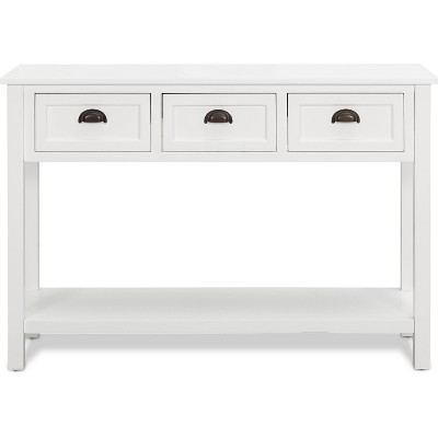 Lockwood Console Table White - Finch