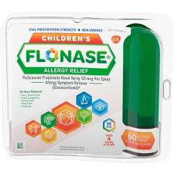 Children's Flonase 24 Hour Allergy Relief Nasal Spray - Fluticasone Propionate - 0.34 fl oz