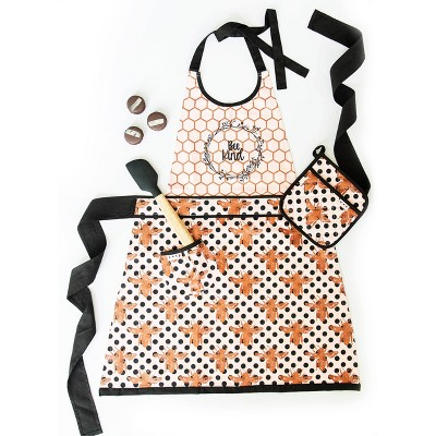 Cotton Bee Kind Apron - Simply Whimsical