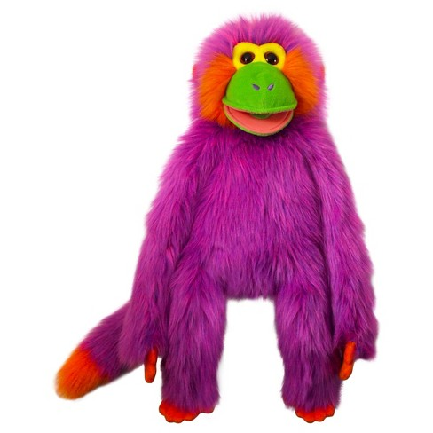 The Puppet Company Funky Monkey Plush Puppet - Purple - image 1 of 1