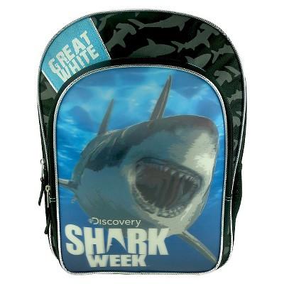 Discovery Channel 16\' Shark Week Kids' Backpack
