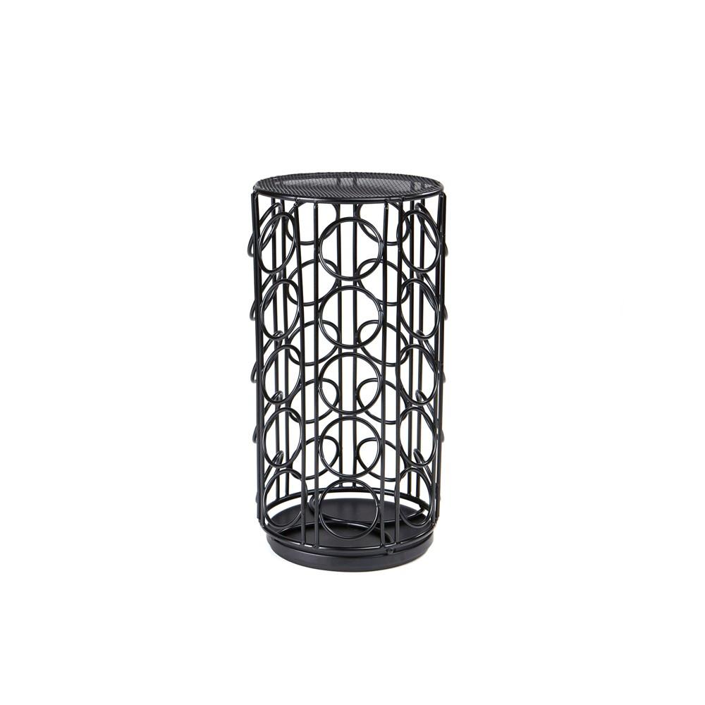 Mind Reader 35 Capacity Metal Mesh K-Cup Single Serve Coffee Pod Holder - Black