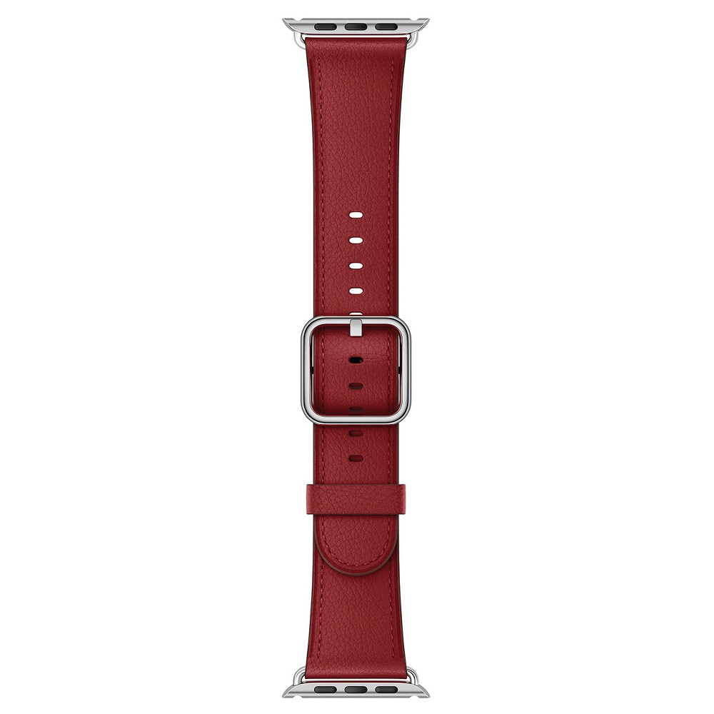 Apple Watch 42mm Ruby (Product) Red Classic Buckle