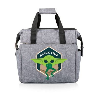 Picnic Time Star Wars: Mandalorian The Child - On The Go Lunch Bag - Heathered Gray
