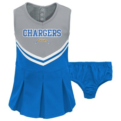 NFL Los Angeles Chargers Toddler Girls' Cheer Set