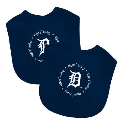 MLB Detroit Tigers 2pk Bib Set