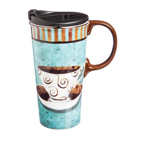 Cypress Home Deja Brew Ceramic Coffee Cup, 17 oz. - image 1 of 1
