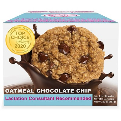 Mommy Knows Best Ready To Eat Oatmeal Chocolate Chip Lactation Cookies