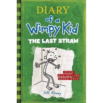 Wimpy Kid Last Straw - by Jeff Kinney (Hardcover)
