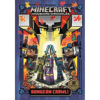 Dungeon Crawl! (Minecraft Woodsword Chronicles #5) - (Stepping Stone Book(tm)) by Nick Eliopulos (Hardcover)