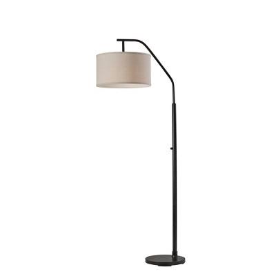 Max Floor Lamp Black - Adesso