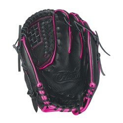 "Wilson A450 12"" Fastpitch Glove - Black/Pink"