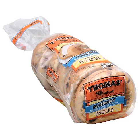 Thomas® Blueberry Bagels, 6 Pre-sliced, 20oz - image 1 of 1