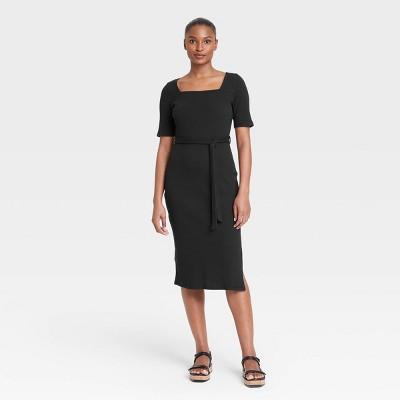 Women's Short Sleeve A-Line Dress - Who What Wear™