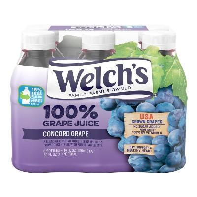 Welch's Concord Grape Juice - 6pk/10 fl oz Bottles