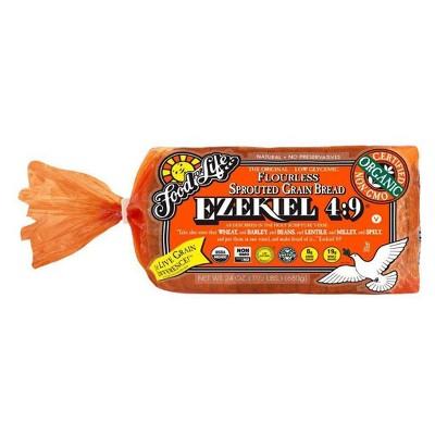 Food For Life Ezekiel 4:9 Organic Frozen Sprouted Grain Bread - 24oz