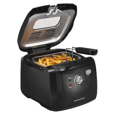 Hamilton Beach 1.5qt Cool Touch Fryer - Black 35021