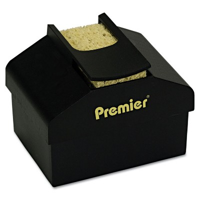 """Premier Aquapad Envelope Moisture Dispenser 3 3/4"""" x 3 3/4"""" x 2 1/4"""" Black LM3"""