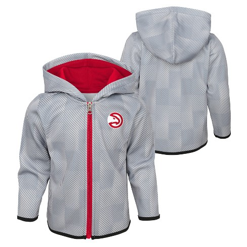 ea35892c166 NBA Atlanta Hawks Toddler Baseline Full Zip Hoodie   Target