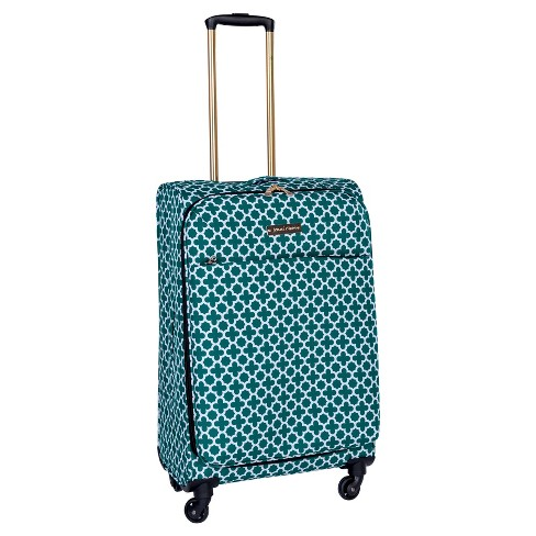 "Jenni Chan Aria Broadway 24"" Softside Spinner Suitcase - Green - image 1 of 1"