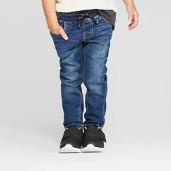 Toddler Boys' Pull-On Skinny Jeans - Cat & Jack™ Medium Blue Wash