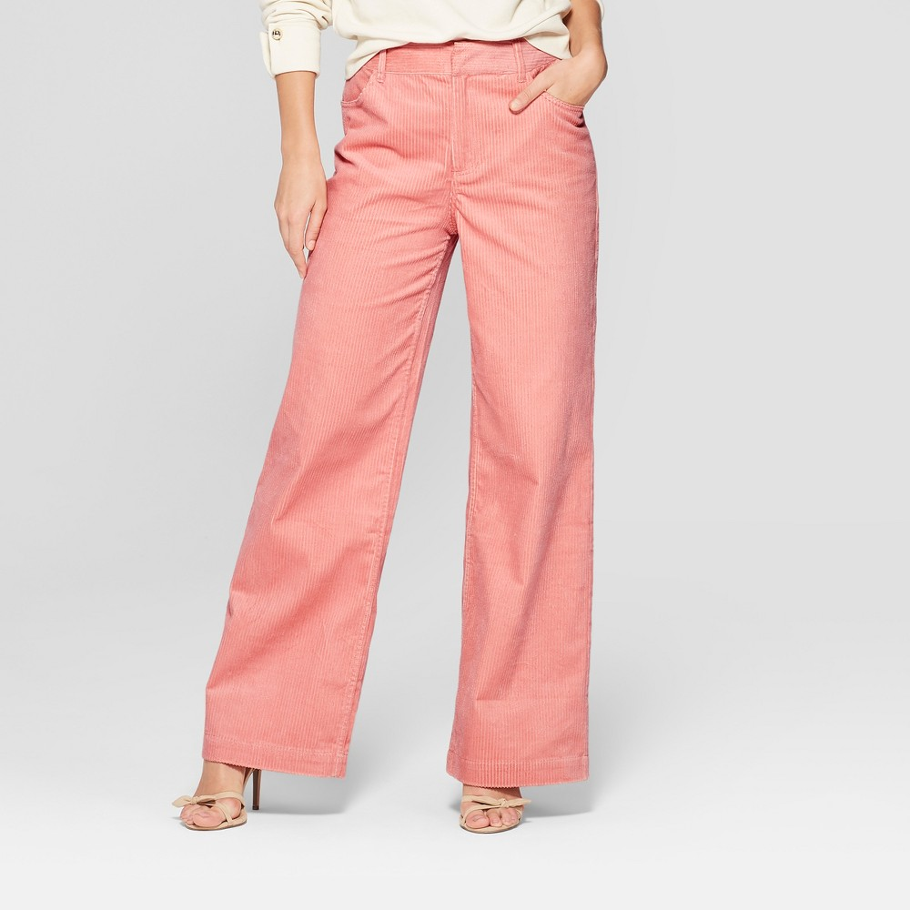 Women's Corduroy Street Sweeper Pants - Who What Wear Pink 2, Red