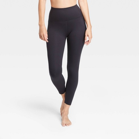 "Women's Contour Power Waist High-Waisted 7/8 Leggings 25"" - All in Motion™ - image 1 of 4"
