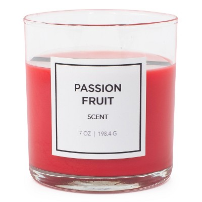 7oz Glass Jar Passion Fruit Candle - Hanna's Candle Co