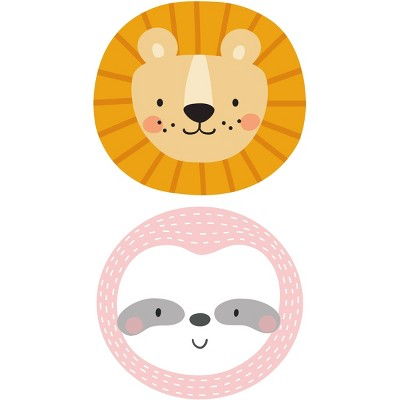 Lion and Sloth Placement Set of 2 - A & A Story