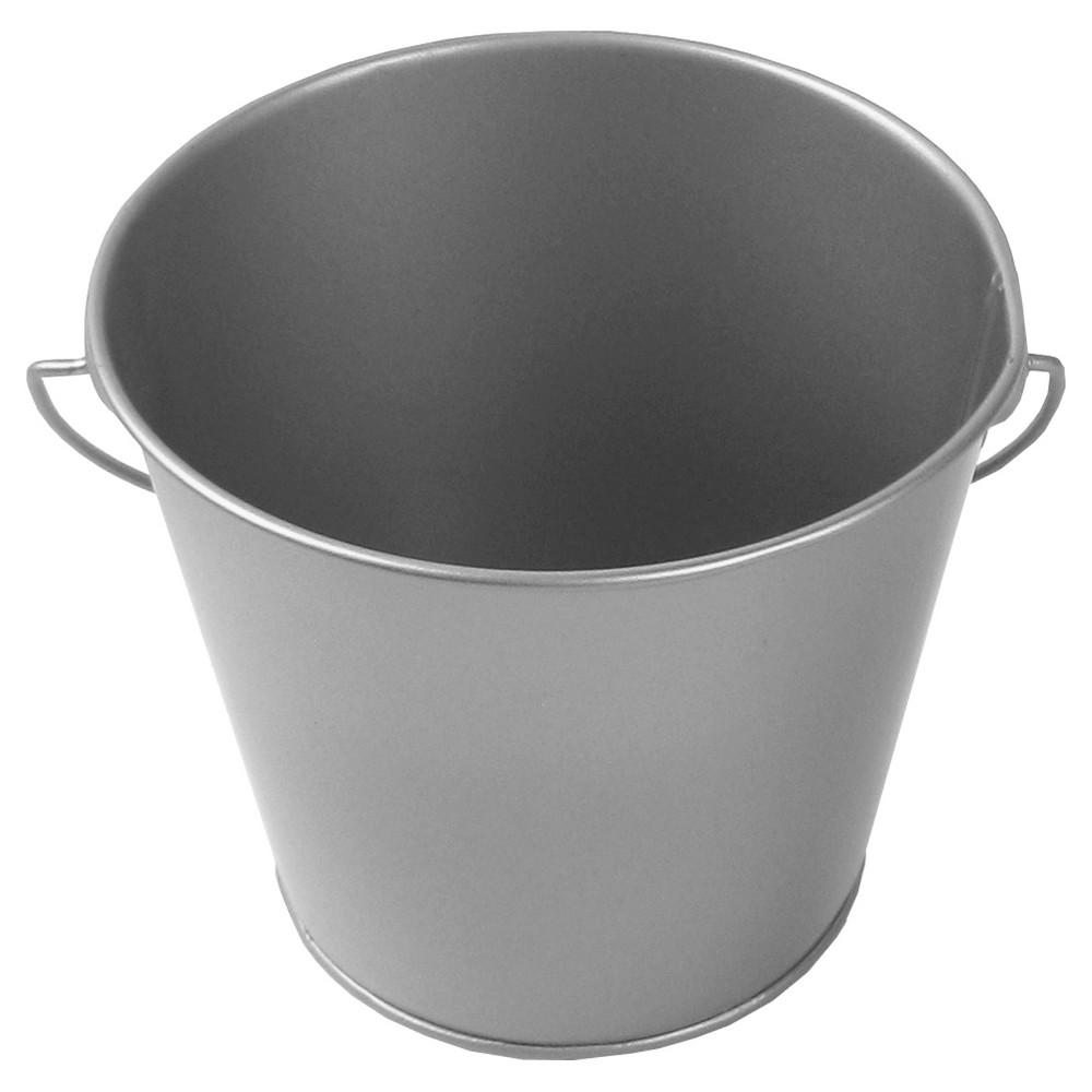 1ct Metal Pail Silver - Spritz