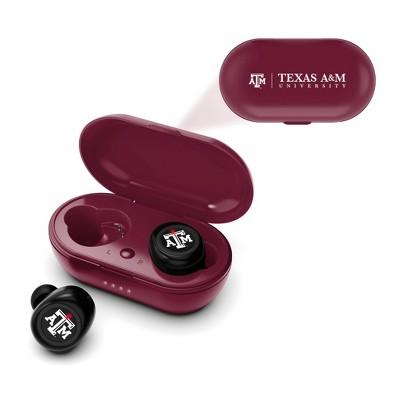 NCAA Texas A&M Aggies True Wireless Bluetooth Earbuds