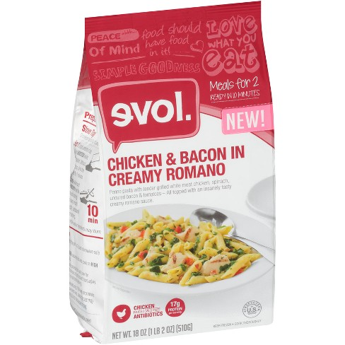 Evol Chicken & Bacon In Creamy Frozen Romano - 18oz - image 1 of 1