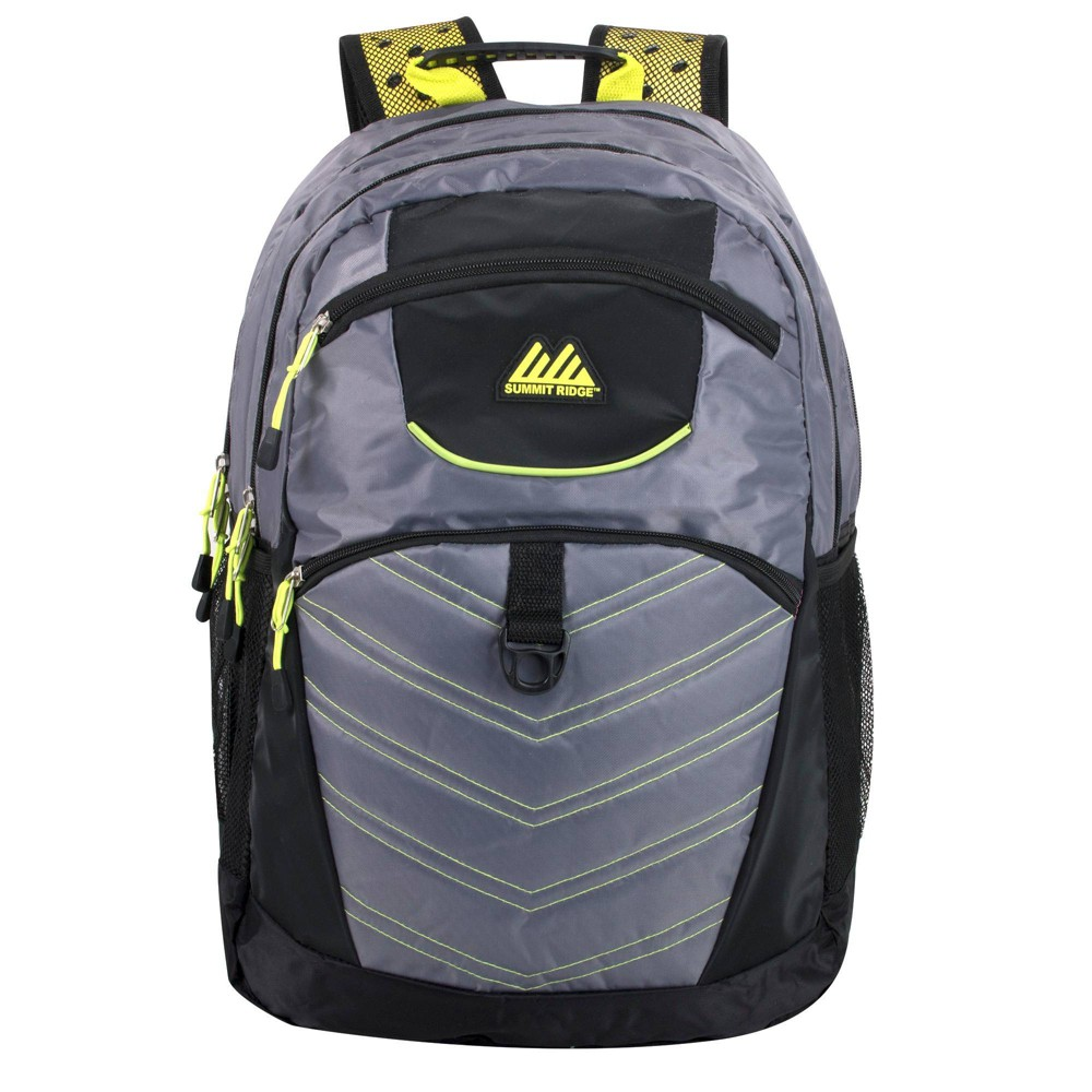 """Image of """"Summit Ridge 19"""""""" Double Section Backpack - Charcoal, Gray"""""""