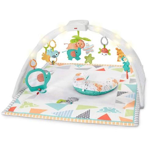Fisher Price FPF84 Safari Dreams Music & Lights Sensory Baby Gym Play Mat Toy - image 1 of 3