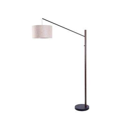 Single Arm Arc Floor Lamp Bronze (Includes LED Light Bulb) - Project 62™