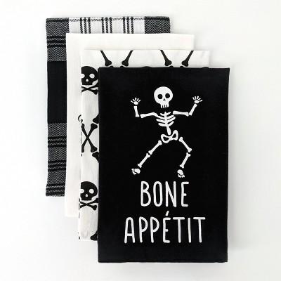 4ct Dish Towel Bone Appetit/Bewitchin' in the Kitchen - Bullseye's Playground™