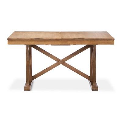 Harvester 72  Rectangle Extension Dining Table Acorn - Beekman 1802 FarmHouse™