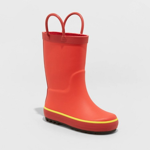 Toddler Boys' Sandy Boots - Cat & Jack™ Red - image 1 of 3