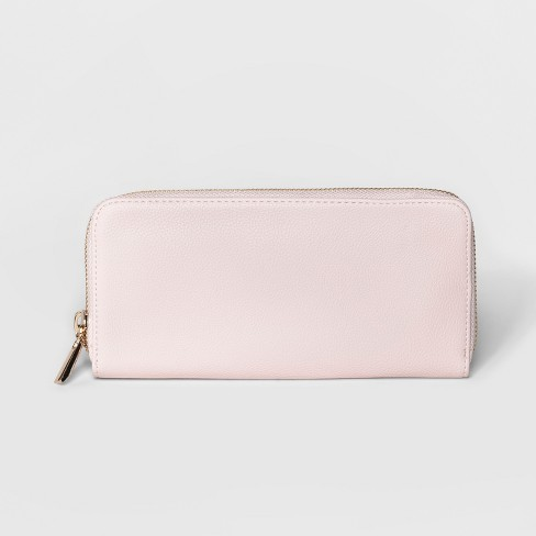 Women's Faux Leather Small Wallet - A New Day™ - image 1 of 2