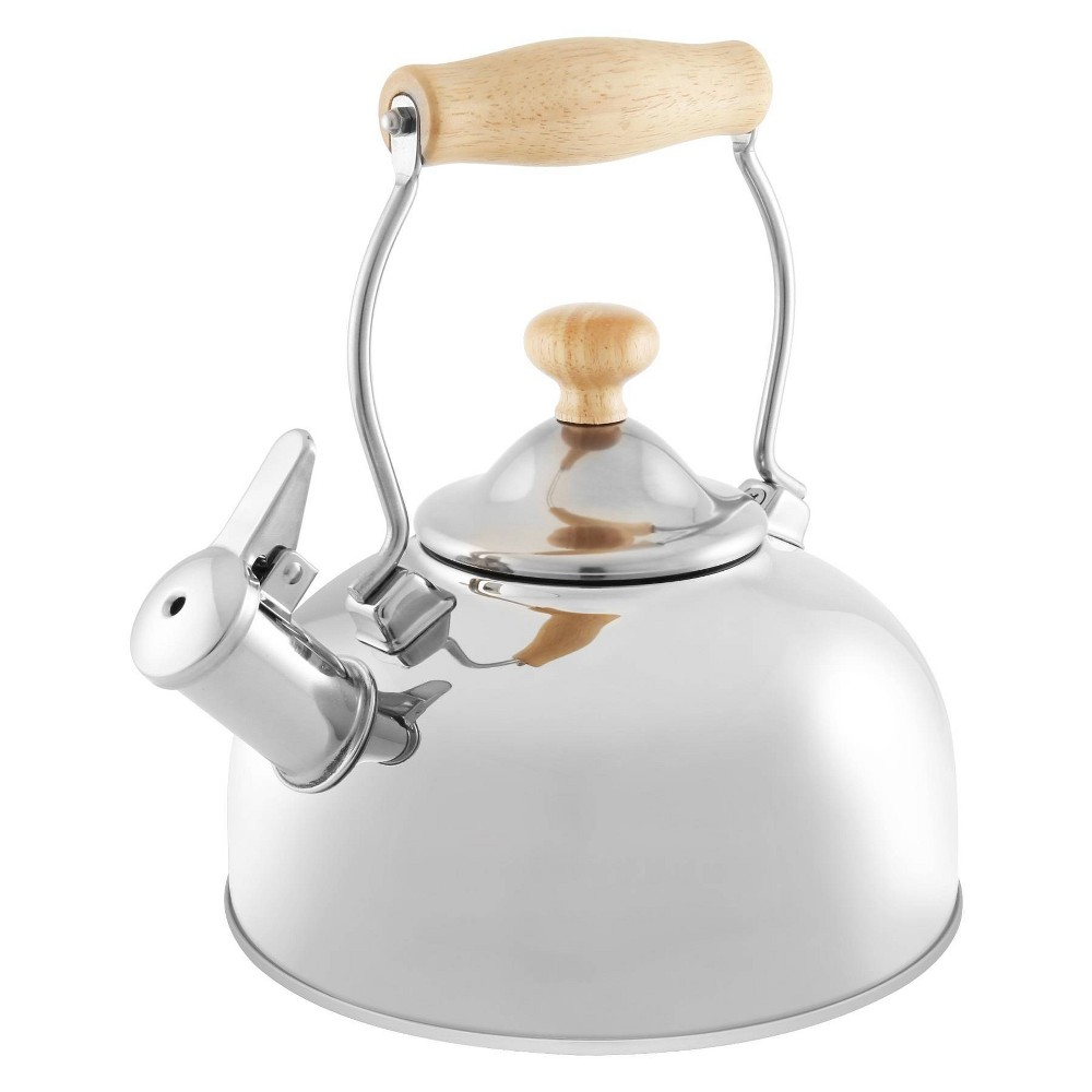 Image of Chantal Woodbury Teakettle 1.8qt - Silver