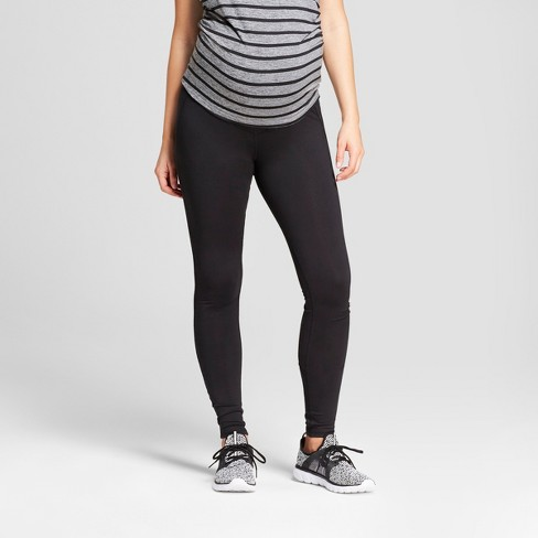 Maternity Freedom Over the Belly Leggings - C9 Champion® Black - image 1 of 5