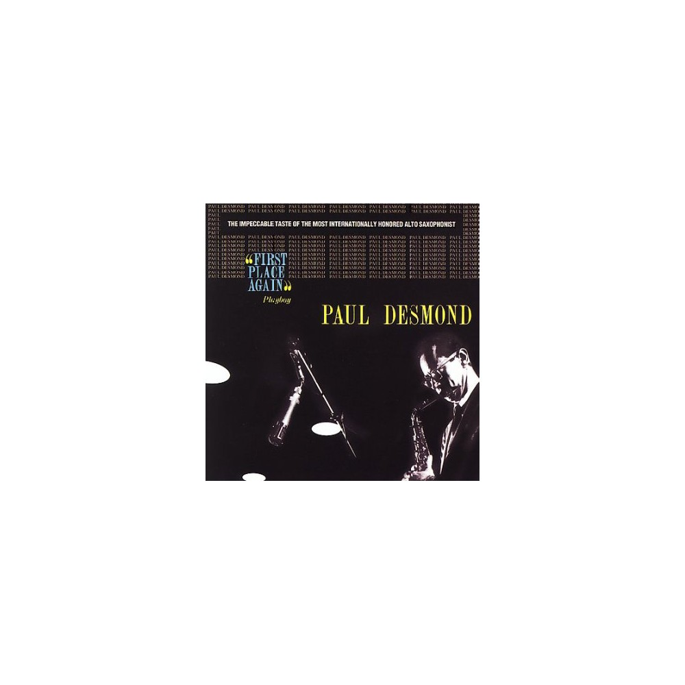 Paul Desmond - First Place Again (CD)