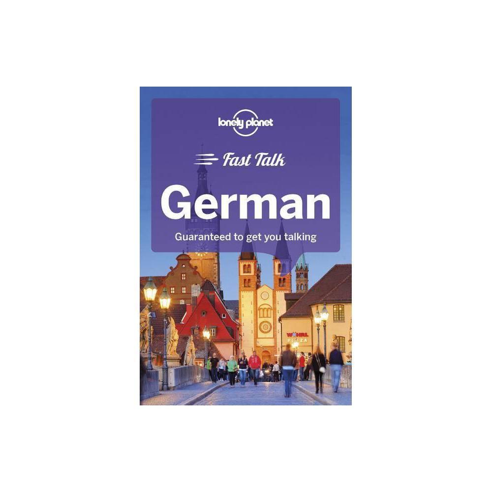 Lonely Planet Fast Talk German 3rd Edition By Gunter Muehl Birgit Jordan Mario Kaiser Paperback