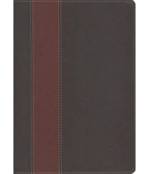Swindoll Study Bible : New Living Translation, Brown & Tan, Leatherlike -  (Paperback) - image 1 of 1
